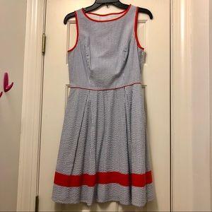 Jessica Simpson Seersucker Dress